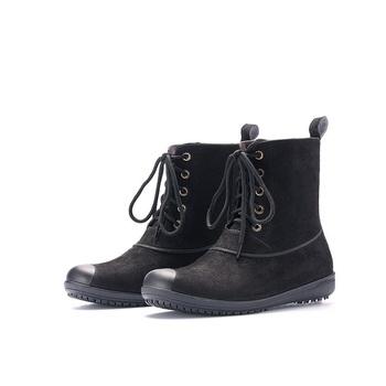 Women's Lace-up Rain Boots Adult Rain