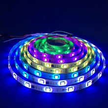 Direccionable WS2811 30 LEDs/m IP65 RGB led SMD5050 12 V