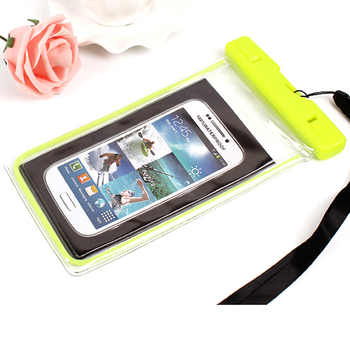 Swimming mobile phone waterproof bag