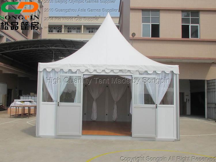 Pop Up Couvert Jardin Pagode Tente Avec Plancher En Bois Pour ...