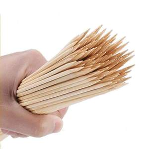 100 % Bamboo skewers vietgo bamboo sticks china vietnam in BBQ Grills