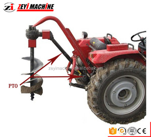 hot sale mini post hole digger for tractor