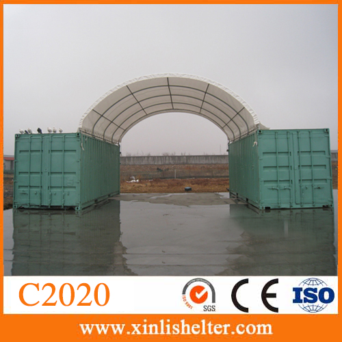 PVC Fabric Steel Galvanized Pole Storage Shelter