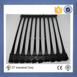 HDPE uniaxial ux plastic geogrids 80KN/m