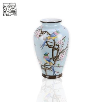 Custom Design Porcelain Luxury Flower Vase Painting Designs Chinese