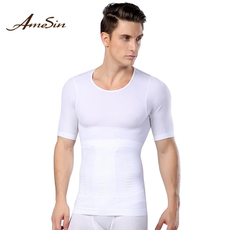 AmeSin ZANY094 custom man sports wear men Yoga wear fitness clothing gym shirts mens fitness T shirt