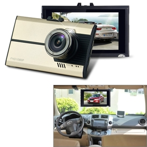 Full HD 1080P car tape recorder 3.0 inch Screen Display Vehicle DVR car driving recorder car camera video recorder