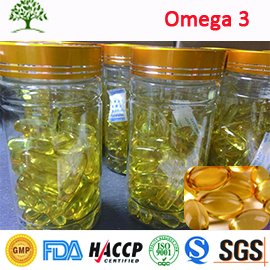 Bulk OMEGA 3 Fish Oil Softgel Capsules 1000mg EPA 180mg/DHA 120mg