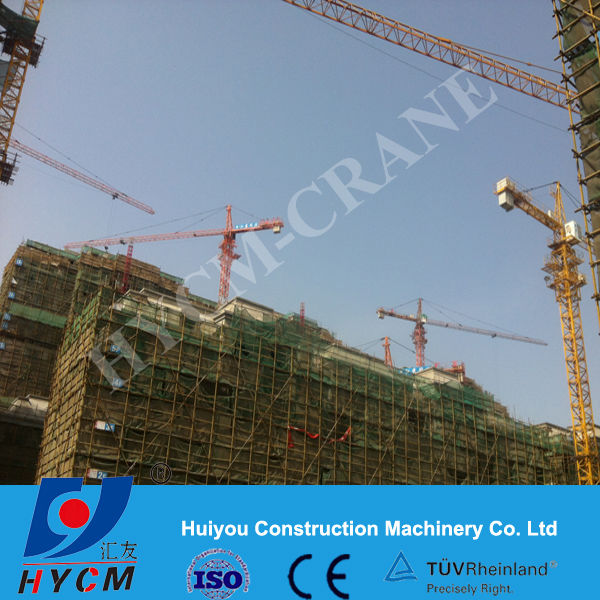 8t Crane for Tower with 60 Jib