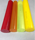 Wholesale Yellow Plastic PU Polyurethane Rod Supplier