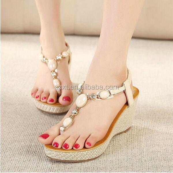 Girls Latest Design Wedge Sandal 2014 New Model Womens Wedge ...