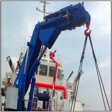 Jib and Hydraulic boom mobile crane for sale