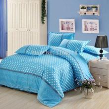 el envo gratuito unids ropa de cama conjunto con el color azul incluyen