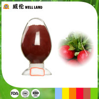 Nature pigment orange red powder food colorant from red radish extract