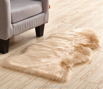 Artificial Fur Animal Shaped Fluffy Carpet Area Rugs