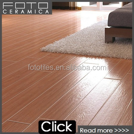 600x900mm red glazed porcelain wooden floor tile Canada style