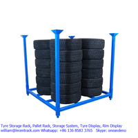 Top Quality Multiple-function collapsible tire storage rack