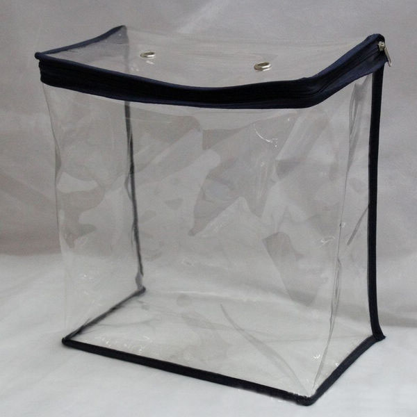 Clear Pvc Blanket Packaging Bag With Handle Pillow Zipper