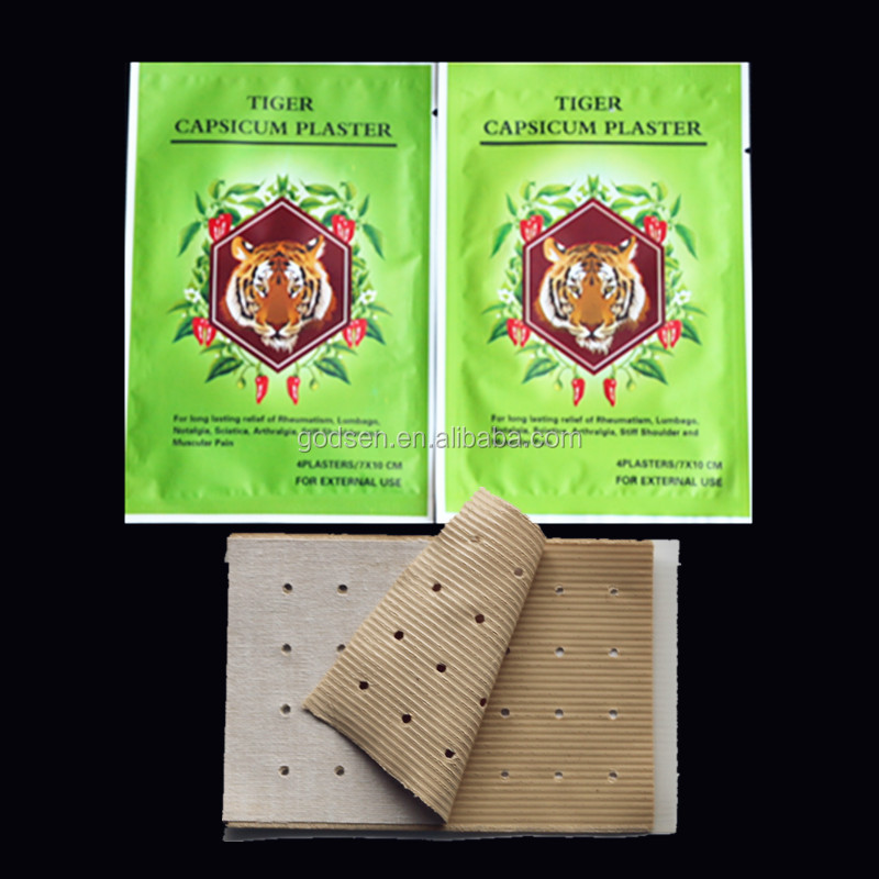 Muscle Pain Relief Patch balsamo di tigre capsicum gesso