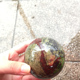 New Arrived Dragon Blood Stone Crystal Sphere Healing Ball