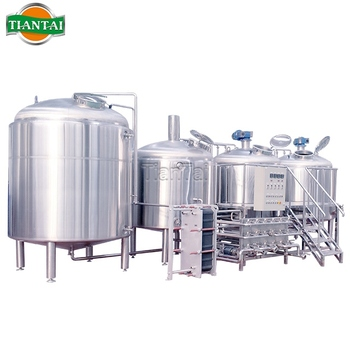 200l 300l 500l 1000l brewing equipment used home brewing equipment for sale Stainless Steel Automatic Craft Beer Machine