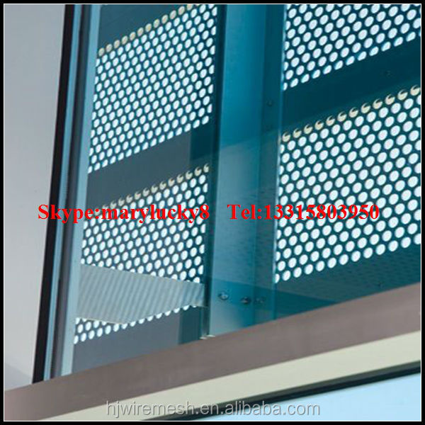 Aluminium Perforated Facade Panel Perforated Metal Facade