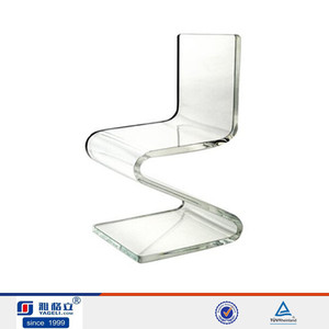 lucite dining chair acrylic z shape dinner chair