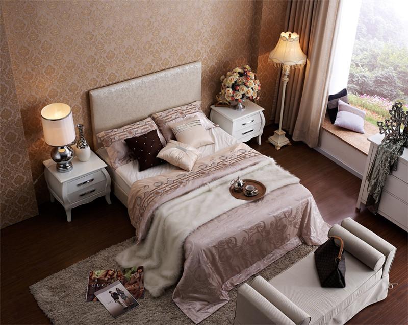 Wholesale High Quality Bedroom Set Furniture King Size Bed