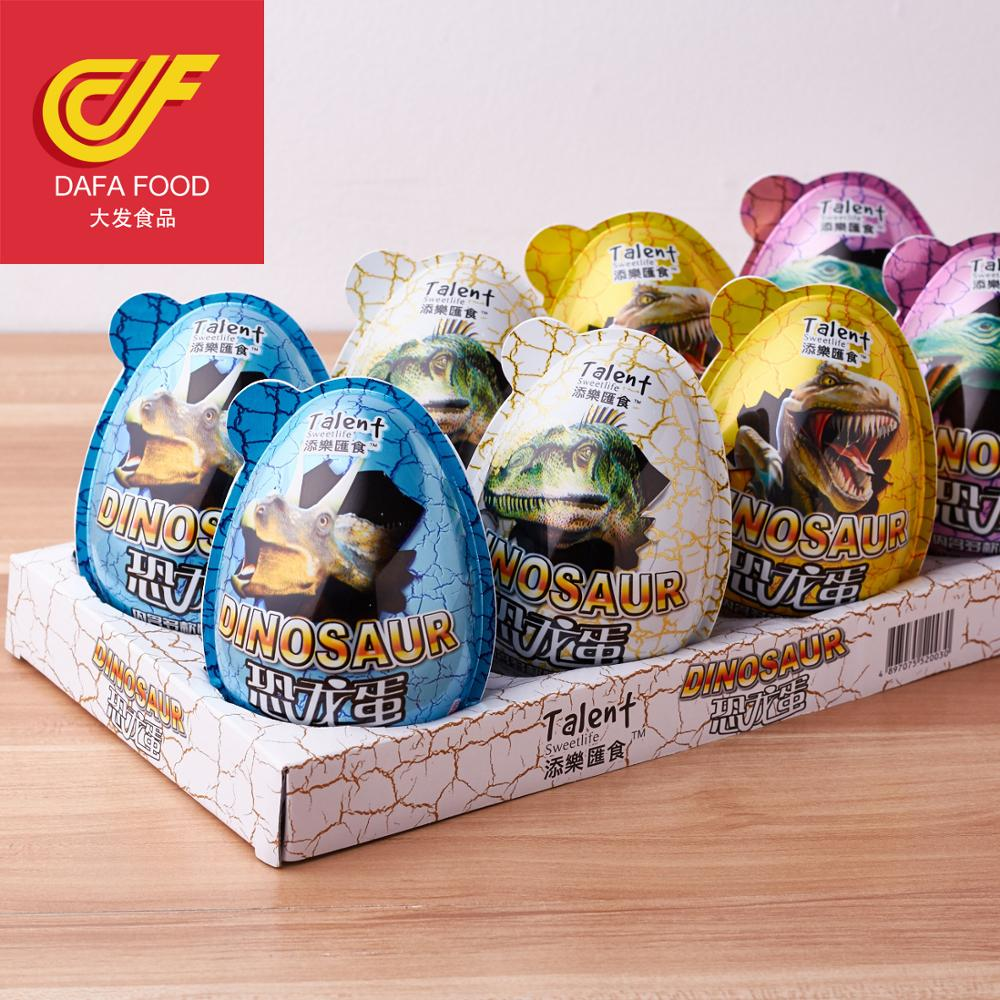 hot selling chocolate jam egg with high quality plastic toys