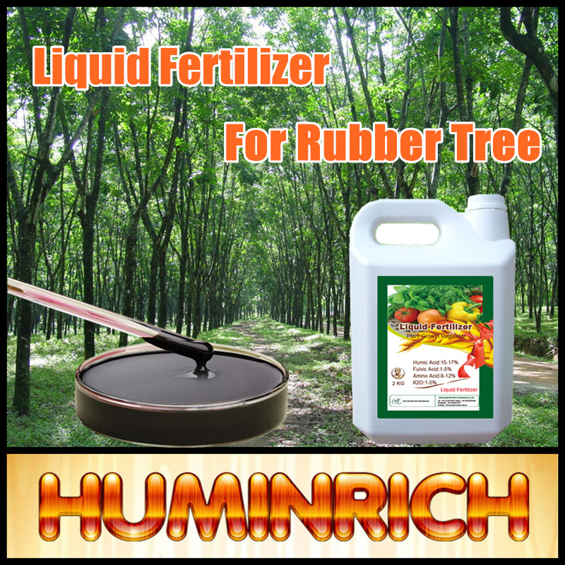 """HuminRich"" Wholesale High Quality Potash Humic Acid Liquid Bio Organic Fertilizer For Rubber Tree"