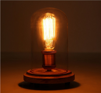 Modern Table Lamps Dot Fabric Shade Reading/book Led Desk Light ...
