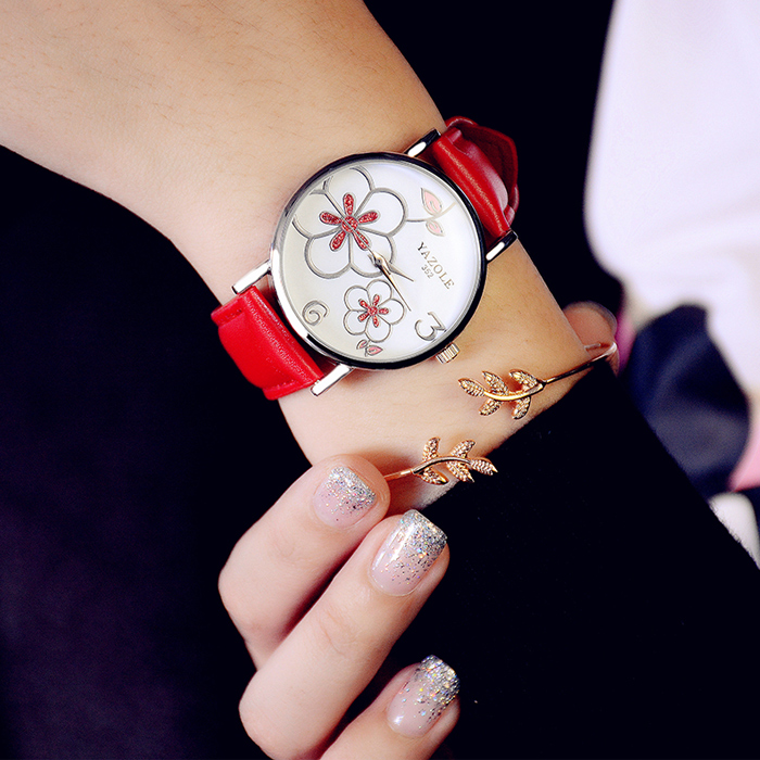 Alloy Material and Water Resistant Feature custom ladies watches luxury