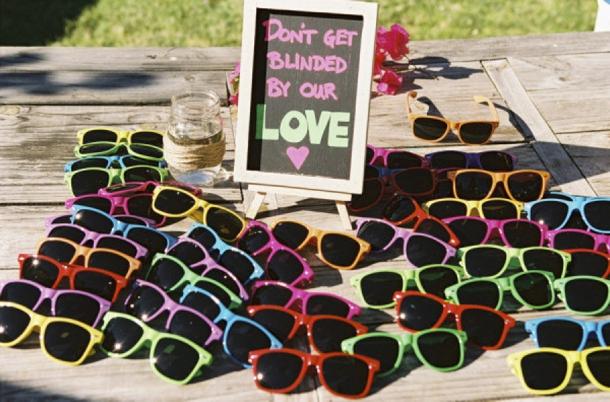 Wedding Party Sunglasses Custom Logo Printing Sunglasses Pinhole ...