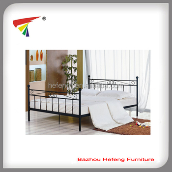 European style metal double bed frame buy european style for Cheap double bed frames under 50