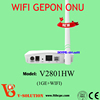 1000mbps auto negotiated Wireless Network FTTH home terminal GEPON ONU