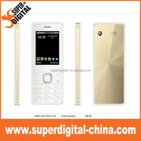 cheap 2.4inch quad band 2G phone OEM telefono 2G cell mobile dual sim card