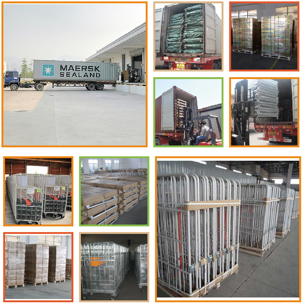 Engine Wire Mesh Customized Stackable Steel Pallet
