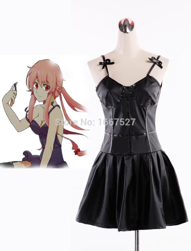 Dress up yuno gasai - Get Quotations The Future Diary Gasai Yuno Black Dress Anime Cosplay Costume