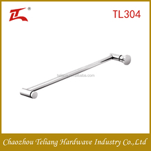 Wholesale hardware market low price sliding glass lever door handle set