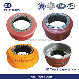 Custom Top Quality All kinds of Heavy Duty Truck Parts Brake Drums