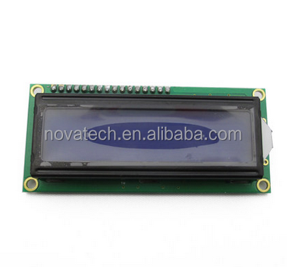 16X2 character <strong>lcd</strong> display yellow green background 1602