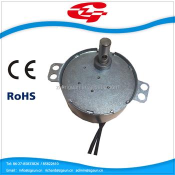 Ac Synchronous Motor 12v/ 24v /120v/ 220v Motor High Quality ...
