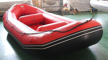 Cheap Folding Inflatable Fishing Boat, 3 persons Cheap sales PVC inflatable fishing boats
