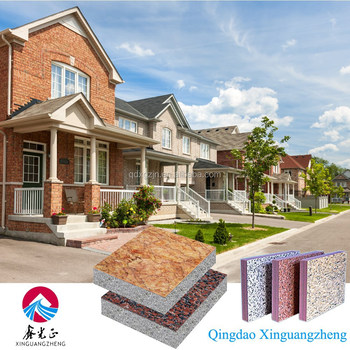Insulation Decorative Integration XPS/EPS Board For Exterior Wall Board