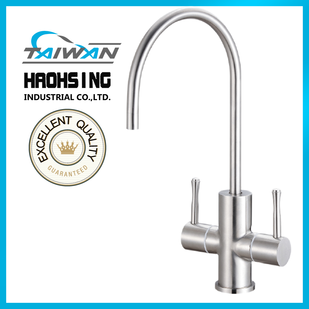 color faucet mounted water filter stainless steel kitchen faucet