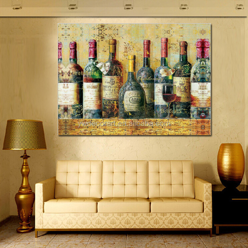 Dorable Wine Canvas Wall Art Gift   Wall Art Collections .