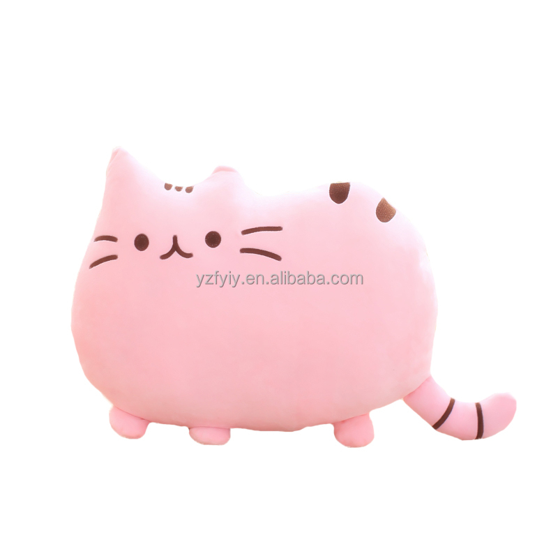 Lovely pusheen cat plush toy gifts for pusheen lovers and for decoration