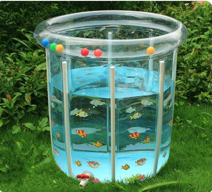 80 80 barato pl stico beb piscina de nata o banho do for Piscinas cuadradas de plastico
