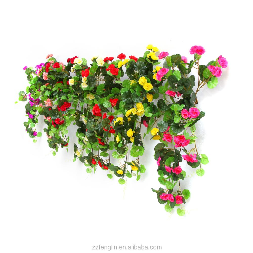 ext rieur d coratif soie g ranium fleur en gros fleur. Black Bedroom Furniture Sets. Home Design Ideas