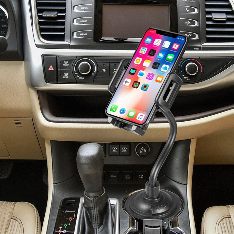 China Suppliers Adjustable Automobile Cup Holder Phone Mount Cell Phone Car Holder